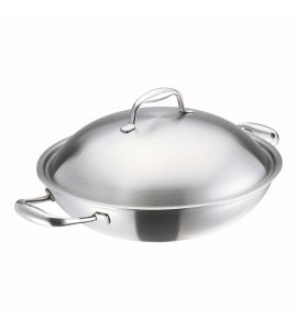 High Dome Wok 32cm