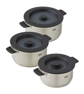 Smart & Compact 3PC Cookware Set