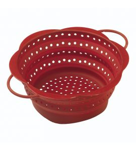Collapsible Colander Large Red