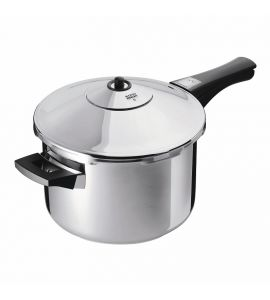 Duromatic Inox Pressure Cooker Long handle - 22cm / 5L