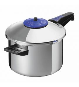 Duromatic Supreme Pressure Cooker Long Handle - 22cm / 5L