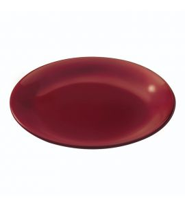 Plate Red Clay Red 19cm