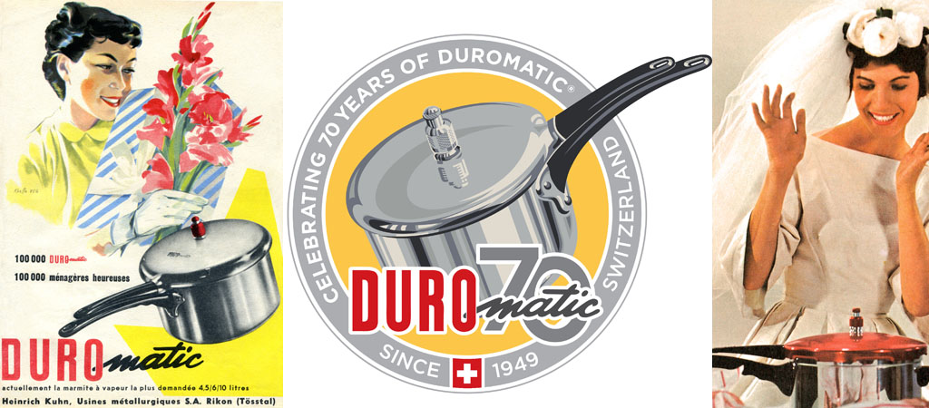 DUROMATIC® Pressure Cooker 70th Anniversary