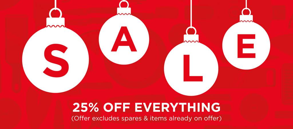 Celebrate the Season and Save 25%