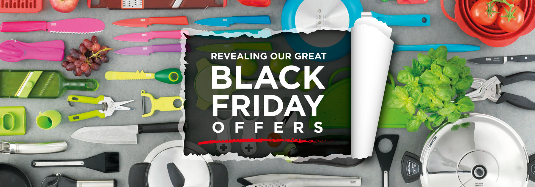 Black Friday, offers, promotions, discounts, cookware, frying, pans, Pressure Cookers, knives, complete range