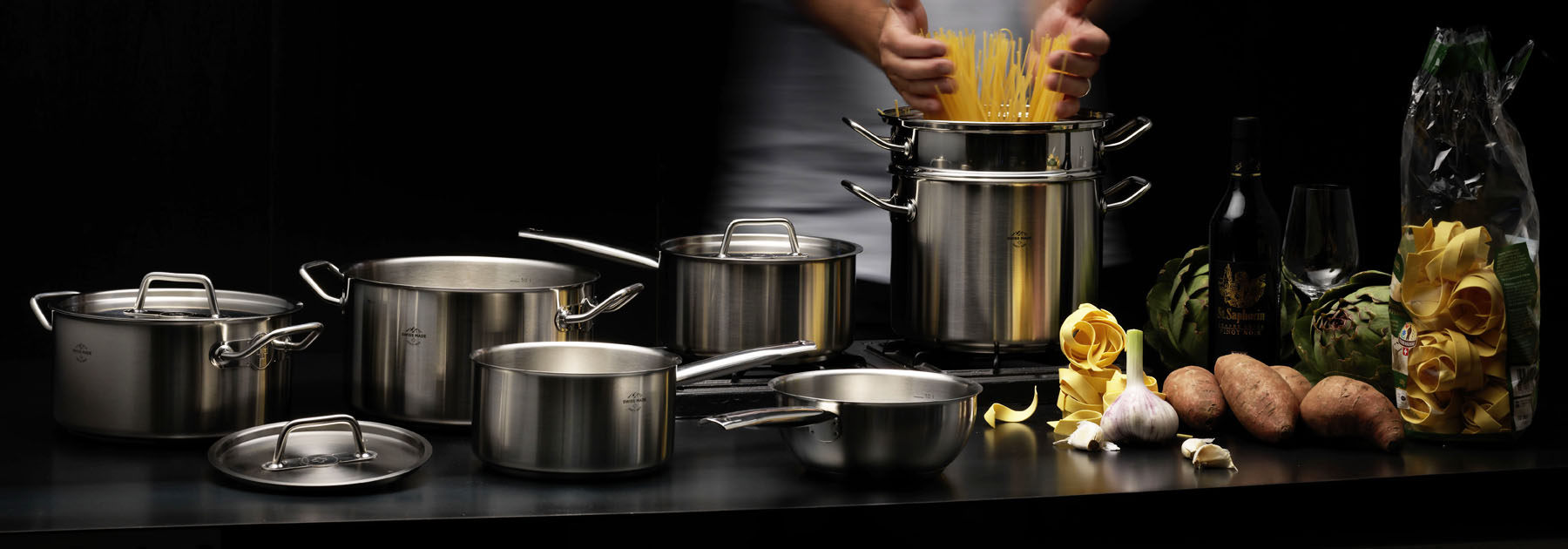 Stainless Steel Moontreux Cookware