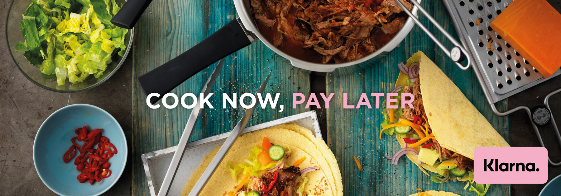 Klarna, Pay Later, Slice It