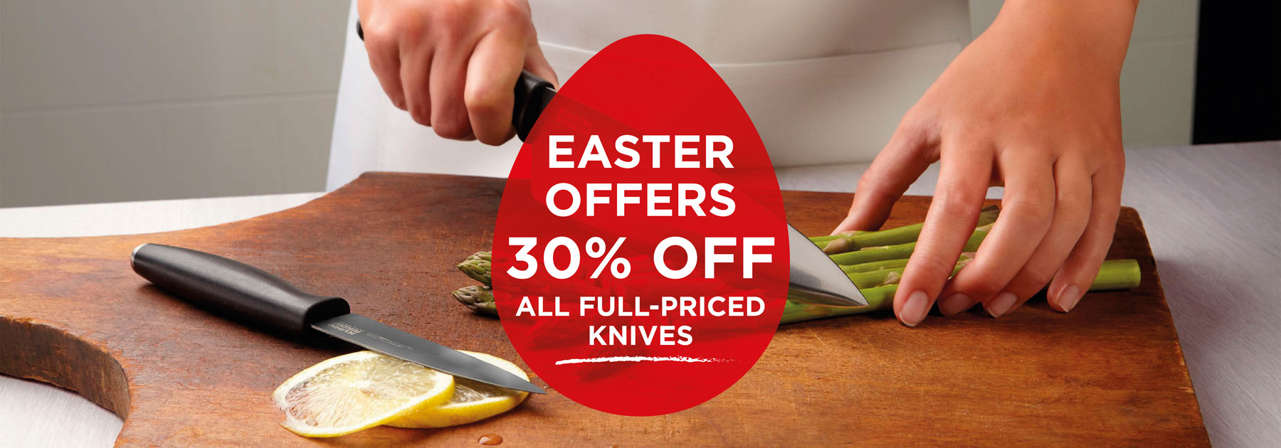 discount, offer, easter, knives
