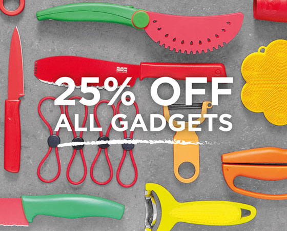 25% off Tools & Gadgets